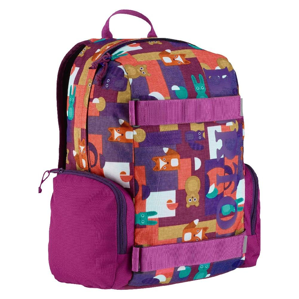 49047f04f2 ... Burton Emphasis Backpack Kids  PAPER ANIMALS PRINT