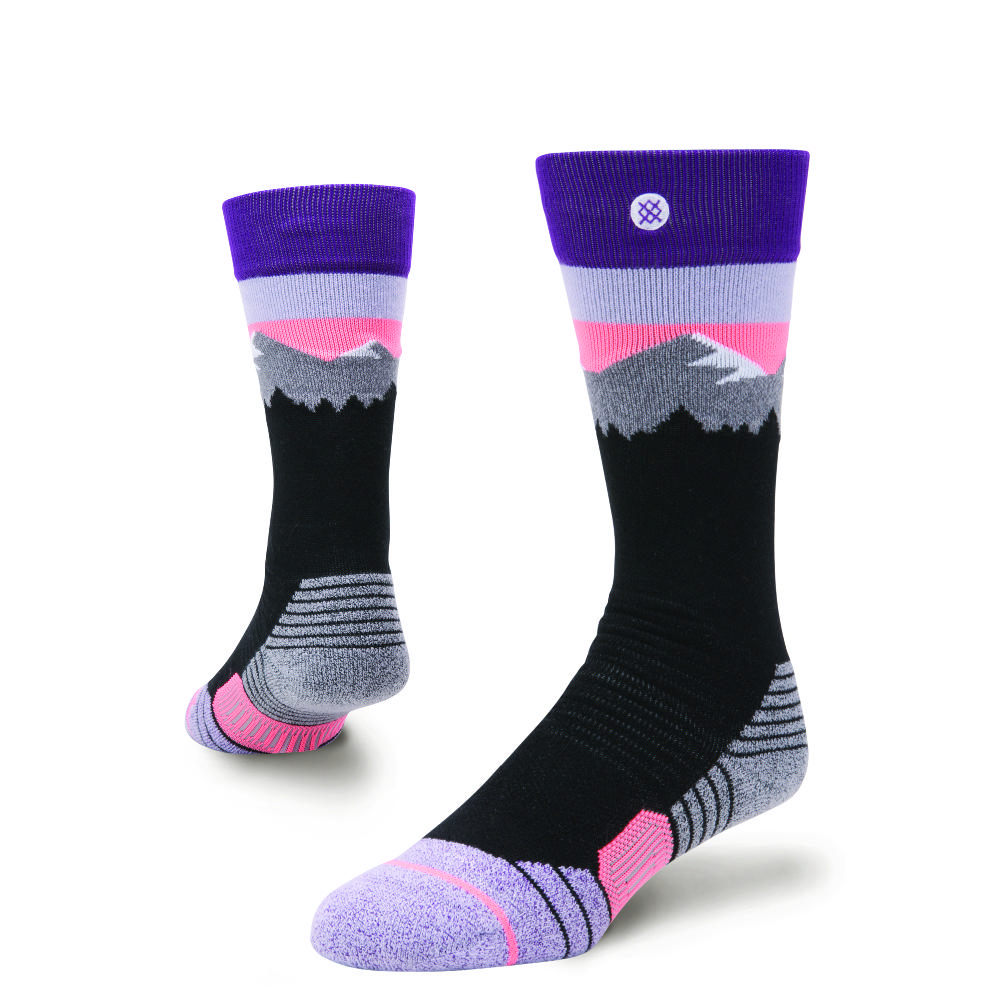 Stance White Caps Snow Socks Girls '