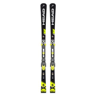 HEAD World Cup Rebels iRace Skis with EVO 14 Race Plate Adult