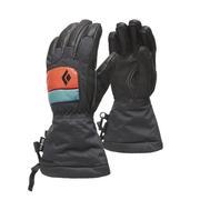 Black Diamond Spark Gloves Kids' CASPIAN/RUST