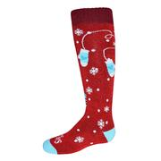 Hot Chillys Mittens Mid Volume Sock Kids' MITTENS/RED