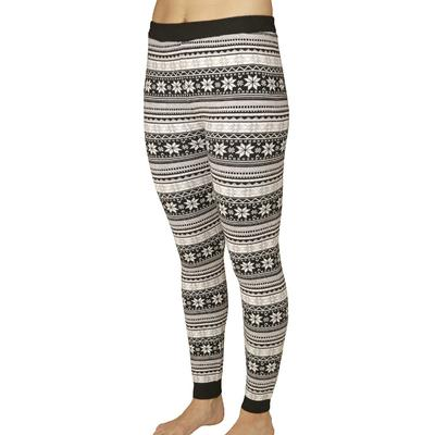 Hot Chillys Sweater Knit Printed Legging Women's