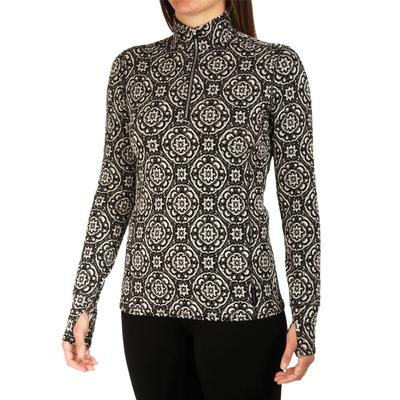 Hot Chillys Jacquard Zip-T Women's