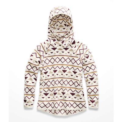 The North Face Glacier Alpine Stripe-Print Pullover Fleece Women's