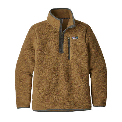 파타고니아 Patagonia Retro Pile 1/4 Zip Fleece Boys (Prior Season)