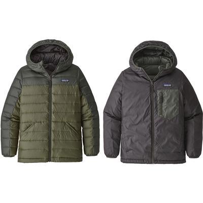 Patagonia Reversible Down Sweater Hooded Jacket Boys'
