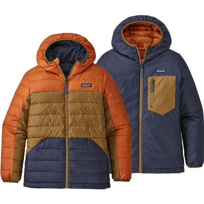 Patagonia Reversible Down Sweater Hooded Jacket Boys'