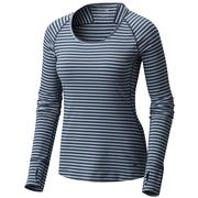 Mountain Hardwear Butterlicious Stripe Crew Sweatshirt Women's INKWELL