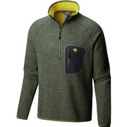 Mountain Hardwear Hatcher Half Zip Pullover Men's SURPLUS GREEN