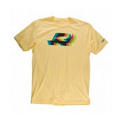 Ride Men's Slim Fit Tee 3D Short Sleeve Logo