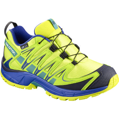 Salomon XA Pro 3D CS Waterproof Junior Trail Running Shoes Kid's