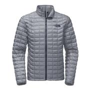 The North Face Thermoball Full Zip Jacket Men's Mid Grey/Urban Navy