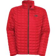 The North Face Thermoball Full Zip Jacket Men's TNF Red/Asphalt Grey