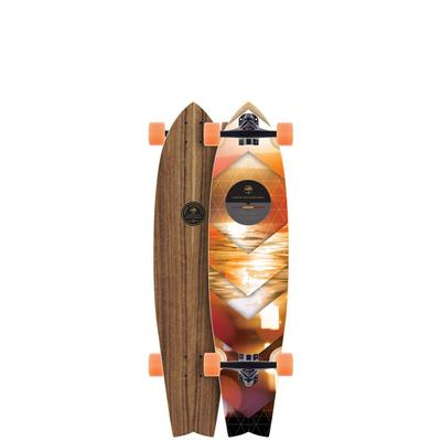 Arbor Mission 37 Walnut Longboard