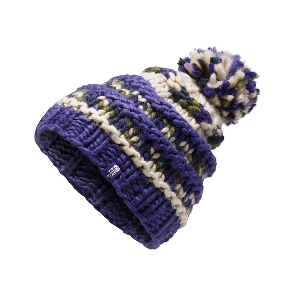 bd9988a72e2 The North Face Nanny Knit Beanie Women s DEEP BLUE PEYOTE BEIGE MULTI