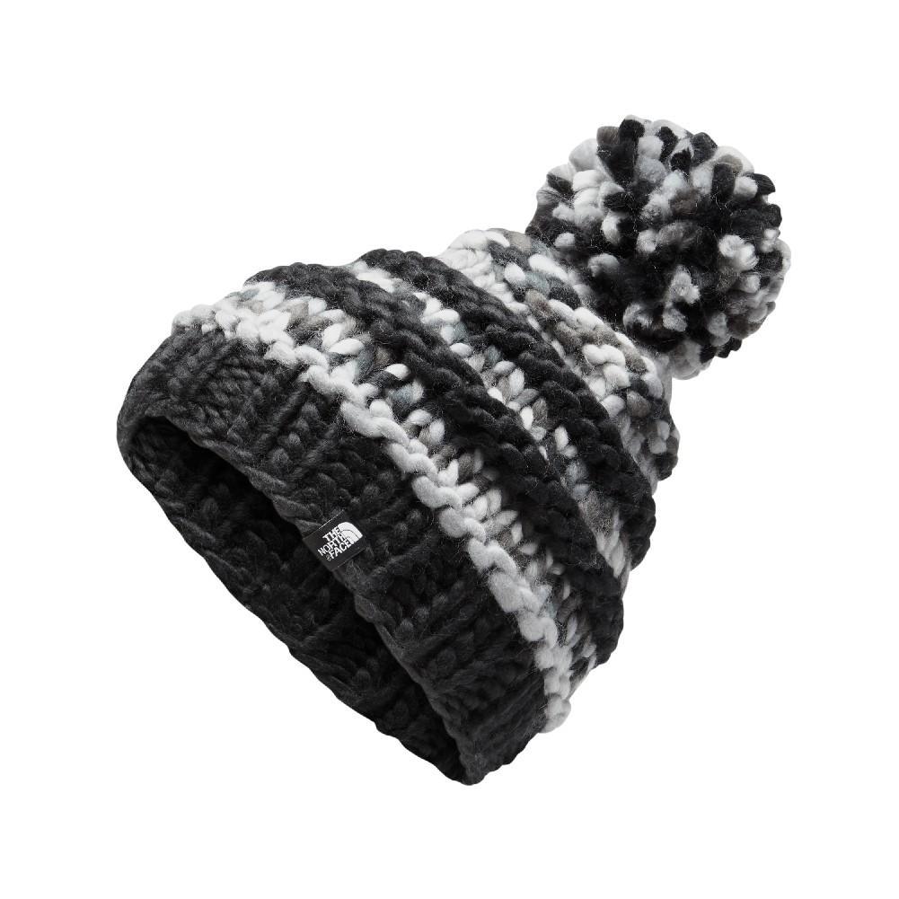 aff62c7e748 The North Face Nanny Knit Beanie Women s TNF BLACK ASPHALT GREY MULTI