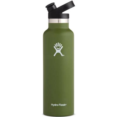 Hydro Flask 21 oz Standard Mouth Insulated Water Bottle with Sport Cap