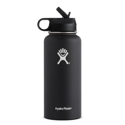 Hydro Flask 32oz. Wide Mouth With Straw Lid Water Bottle