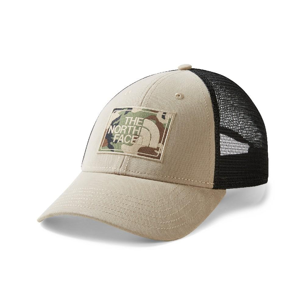 6a2069478fc The North Face Mudder Trucker Hat DUNE BEIGE BURNT OLIVE GREEN CAMO