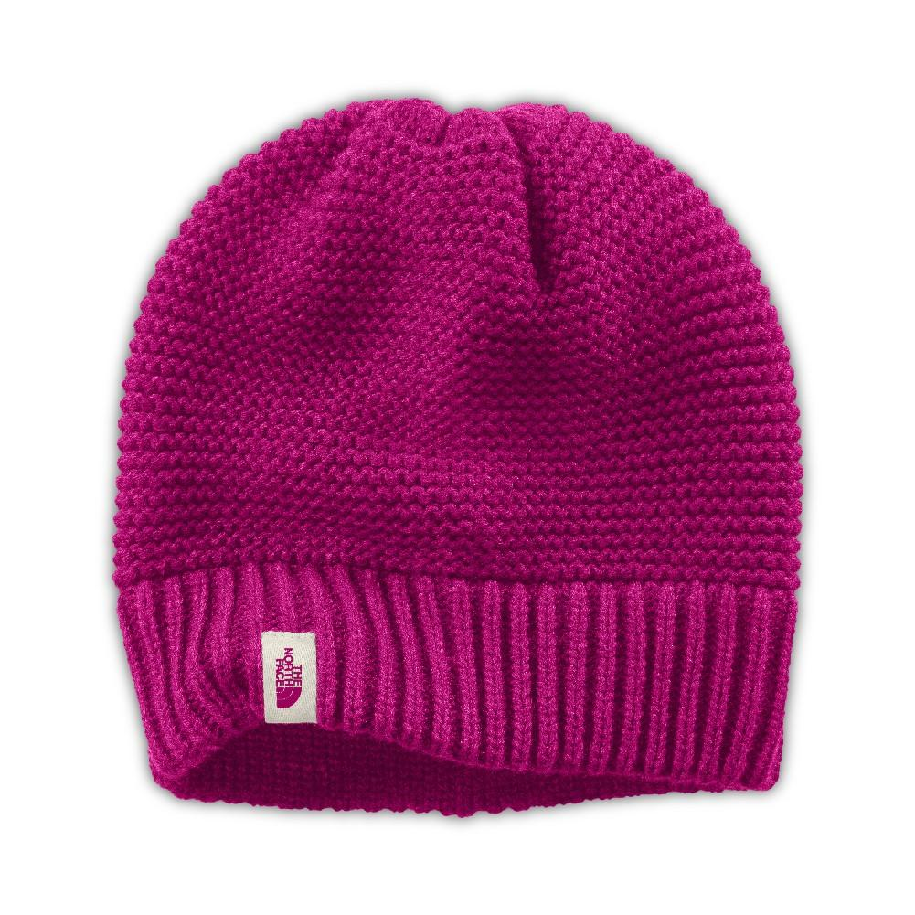 The North Face Purrl Stitch Beanie Women s Dramatic Plum fbd81422a145