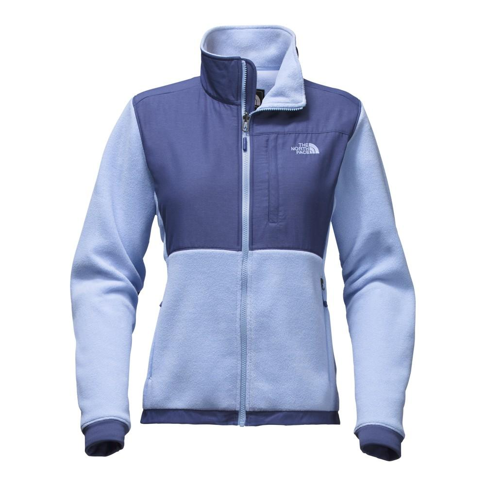 86f2321f239a The North Face Denali 2 Jacket Women s Chambray Blue Coastal Fjord Blue  Heather ...