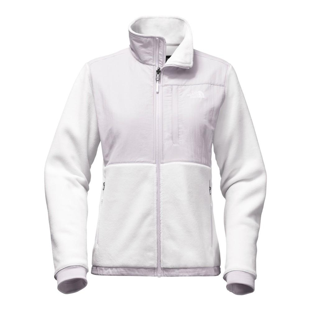22ed809e211d The North Face Denali 2 Jacket Women s TNF White Lavender Blue