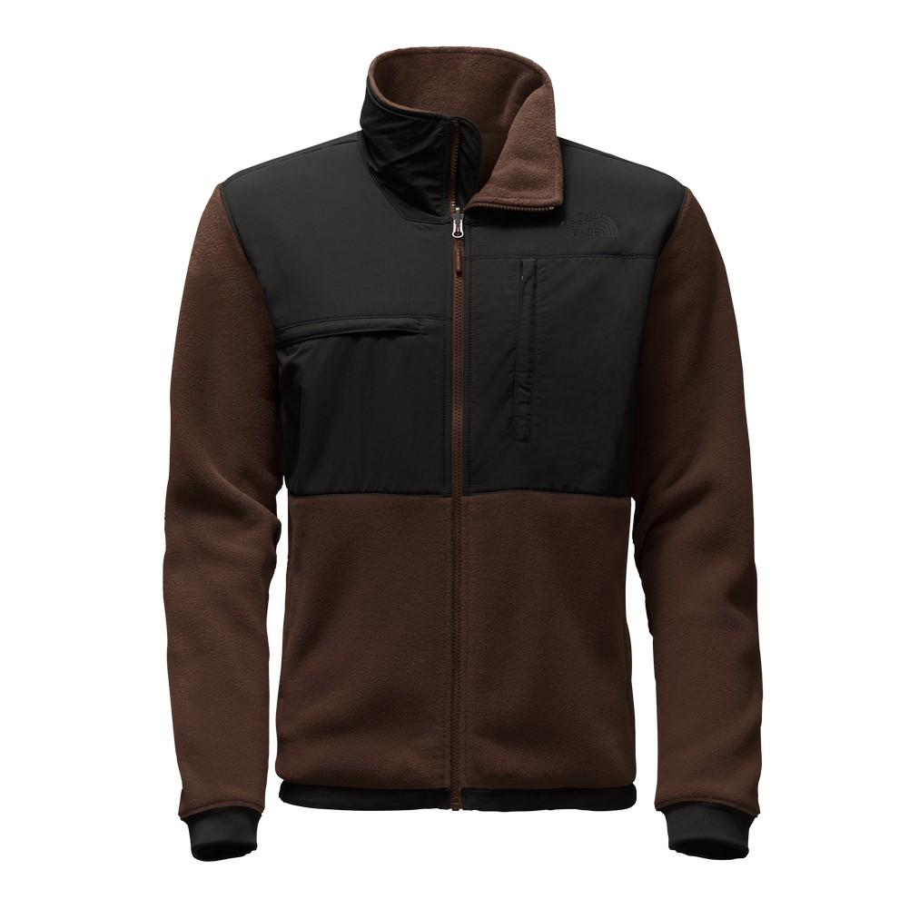 342fb0885964 The North Face Denali 2 Jacket Men s Recycled Coffee Bean Brown TNF Black