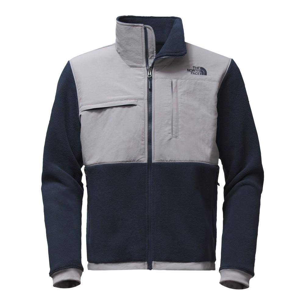 The North Face Denali 2 Jacket Men S Recycled Urban Navy Mid Grey