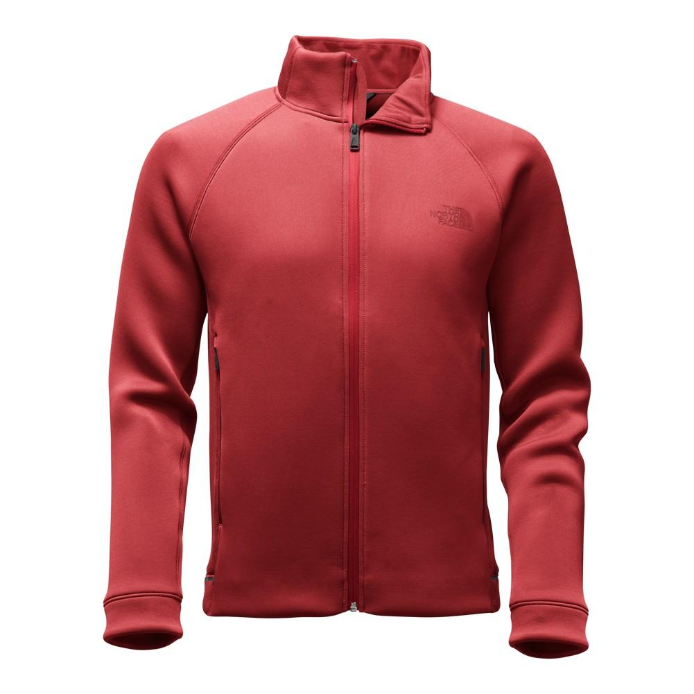 The North Face Upholder Full-Zip Men s Cardinal Red Heather ... e580132a0