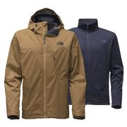 The North Face Arrowood Triclimate Jacket Men's Dijon Brown