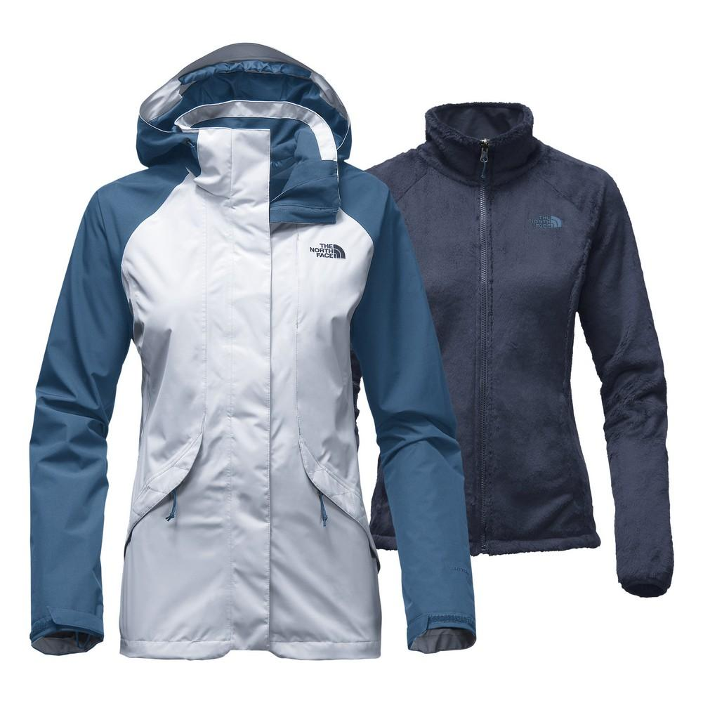 b03fb7e69288 The North Face Boundary Triclimate Women s Arctic Ice Blue Shady Blue The  North Face Boundary Triclimate Women s Asphalt Grey Cerise Pink ...