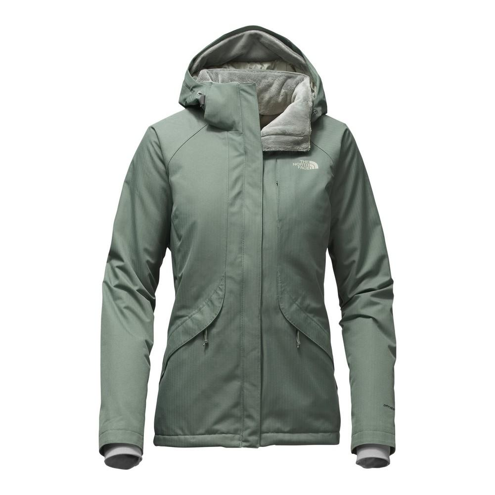 52a66b69ffbd The North Face Inlux Insulated Jacket Women s Balsam Green ...