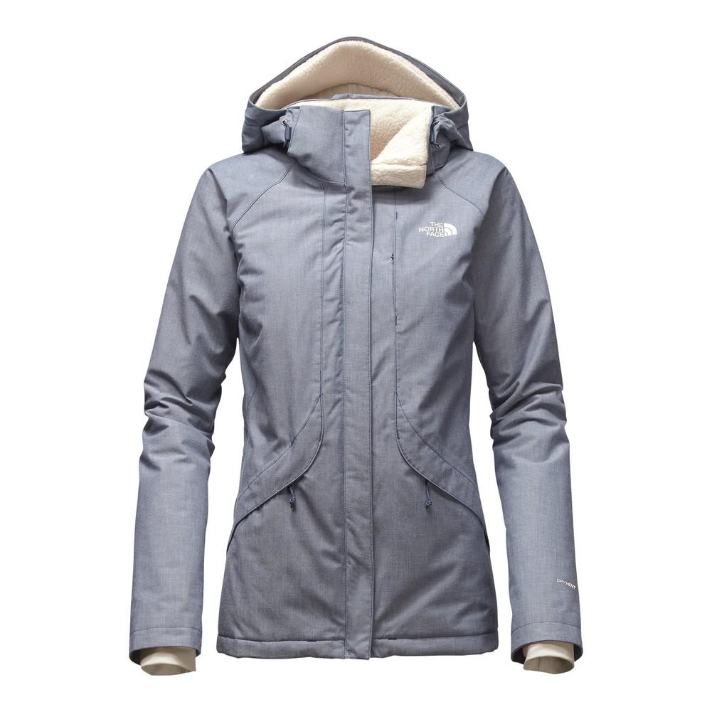3459afcb4cef The North Face Inlux Insulated Jacket Women s Shady Blue Chambray