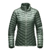 The North Face ThermoBall Full-Zip Jacket Women's Balsam Green