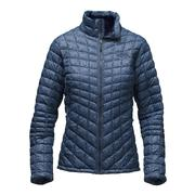 The North Face ThermoBall Full-Zip Jacket Women's Cosmic Blue Frequency Print