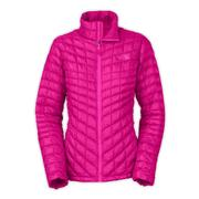 The North Face ThermoBall Full-Zip Jacket Women's Luminous Pink