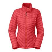 The North Face ThermoBall Full-Zip Jacket Women's Melon Red