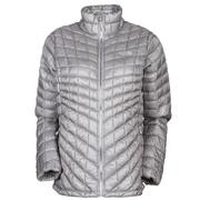 The North Face ThermoBall Full-Zip Jacket Women's Metallic Silver