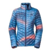 The North Face ThermoBall Full-Zip Jacket Women's Patriot Blue Swirl Print