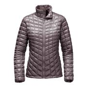 The North Face ThermoBall Full-Zip Jacket Women's Rabbit Grey/Rabbit Grey Swashed Print
