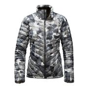 The North Face ThermoBall Full-Zip Jacket Women's TNF Black Swashed Print