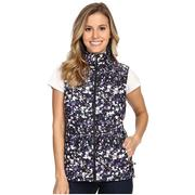 The North Face Thermoball Vest Women's TNF Black Floral Crystal