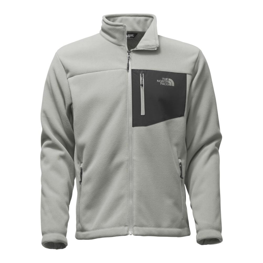 3408dc6e084b The North Face Chimborazo Full Zip Men s Moon Mist Grey Asphalt Grey ...