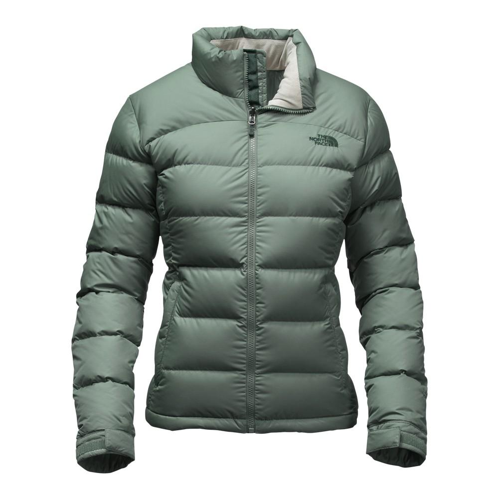 The North Face Nuptse 2 Jacket Women s Balsam Green ... a9a2652703