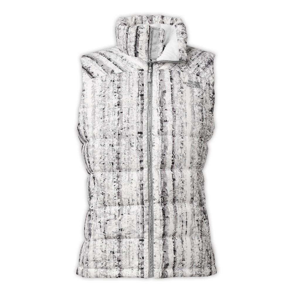 63db8c6427ff The North Face Nuptse 2 Vest Women s TNF White Birch Print