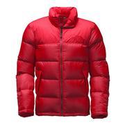 The North Face Nuptse SE Jacket Men's TNF Red/TNF Red Croc Emboss