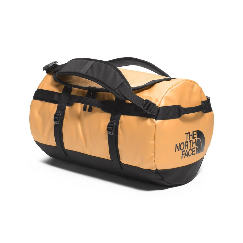 The North Face Base Camp Duffel Small 24k Gold Tnf Black