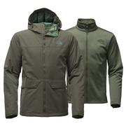 The North Face Canyonlands Triclimate Jacket Men's Climbing Ivy Green