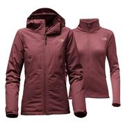 The North Face Highanddry Triclimate Jacket Women's Deep Garnet Red