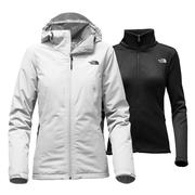 The North Face Highanddry Triclimate Jacket Women's Lunar Ice Grey/TNF Black
